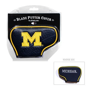 Michigan Wolverines Blade Golf Putter Cover