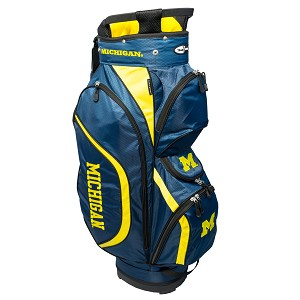 Michigan Wolverines Golf Clubhouse Cart Bag