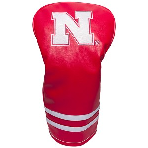 Nebraska Cornhuskers Vintage Golf Driver Head Cover