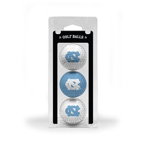 North Carolina Tar Heels Golf Ball Clamshell