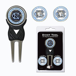 North Carolina Tar Heels Golf Divot Tool Set