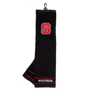 North Carolina State Wolf Pack Embroidered Golf Towel