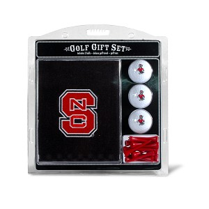 North Carolina State Wolf Pack Embroidered Golf Gift Set