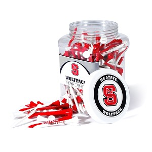 North Carolina State Wolf Pack Golf 175 Tee Jar