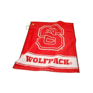 North Carolina State Wolf Pack Woven Golf Towel