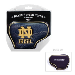 Notre Dame Fighting Irish Blade Golf Putter Cover