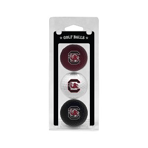 South Carolina Gamecocks Golf Ball Clamshell