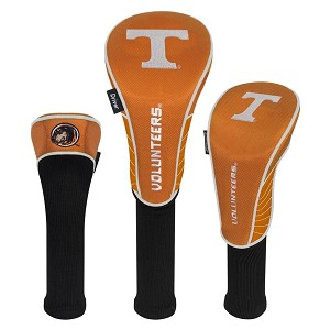 Tennessee Volunteers Nylon Graphite Golf Set of 3 Head Covers