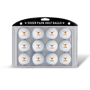 Texas Longhorns Dozen Pack Golf Balls