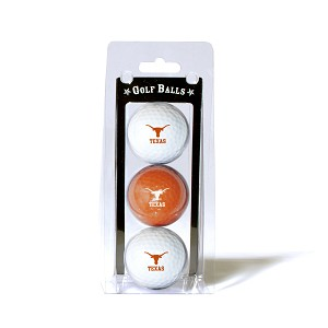 Texas Longhorns Golf Ball Clamshell