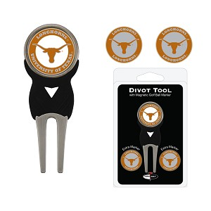 Texas Longhorns Golf Divot Tool Set