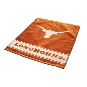 Texas Longhorns Woven Golf Towel