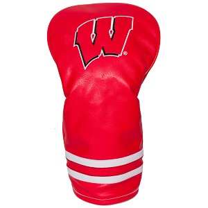 Wisconsin Badgers Vintage Golf Driver Head Cover
