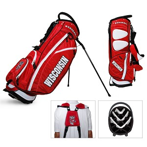 Wisconsin Badgers Golf Fairway Stand Bag