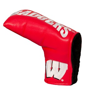 Wisconsin Badgers Vintage Blade Golf Putter Cover