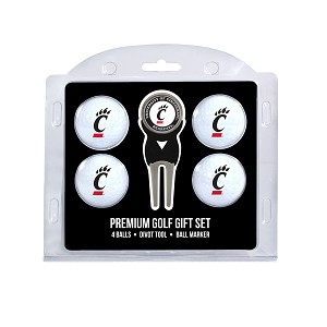 Cincinnati Bearcats 4 Ball Divot Tool Golf Gift Set