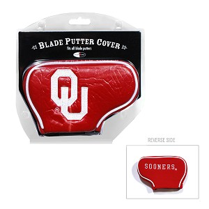 Oklahoma Sooners Blade Golf Putter Cover