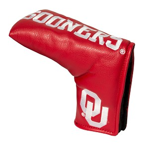 Oklahoma Sooners Vintage Blade Golf Putter Cover