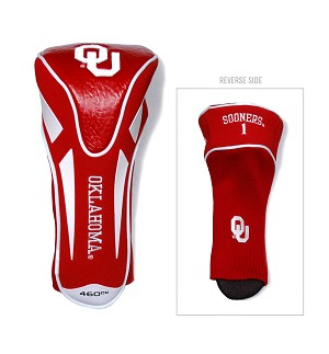 Oklahoma Sooners Apex Golf Driver Head Cover