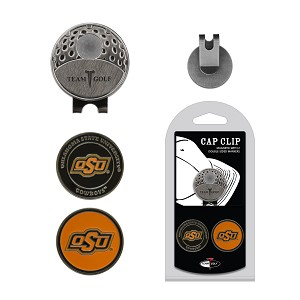 Oklahoma State Cowboys 2 Marker Golf Hat Clip
