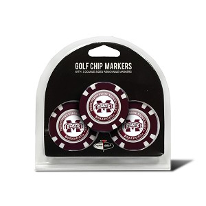 Mississippi State Bulldogs Golf 3 Pack Poker Chip