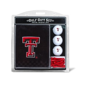 Texas Tech Red Raiders Embroidered Golf Gift Set