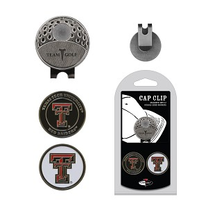 Texas Tech Red Raiders 2 Marker Golf Hat Clip