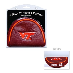 Virginia Tech Hokies Mallet Golf Putter Cover