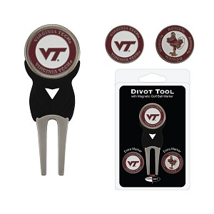 Virginia Tech Hokies Golf Divot Tool Set