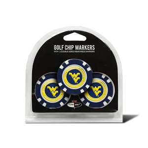 West Virginia Mountaineers Golf Poker Chip