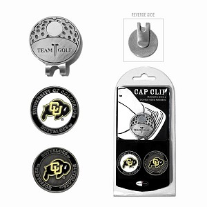 Colorado Buffalos 2 Marker Golf Hat Clip
