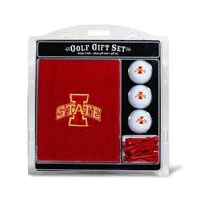 Iowa State Cyclones Embroidered Golf Gift Set