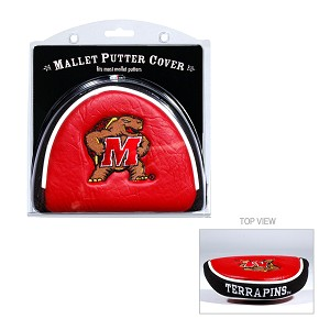 Maryland Terrapins Mallet Golf Putter Cover