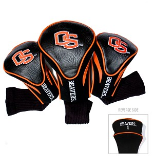 Oregon State Beavers Golf Contour 3 pack Head Covers