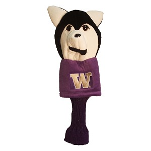 Washington Huskies Mascot Golf Head Cover