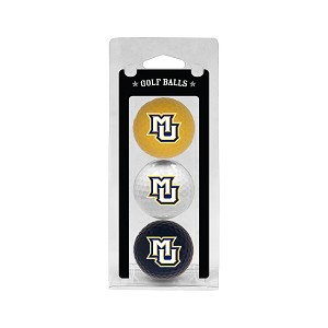 Marquette Golden Eagles Golf Ball Clamshell