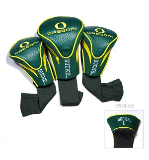 Oregon Ducks Golf Contour 3 pack Head Covers