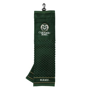 Colorado State Rams Embroidered Golf Towel