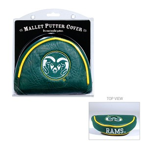 Colorado State Rams Mallet Golf Putter Cover
