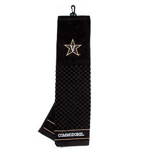 Vanderbilt Commodores Embroidered Golf Towel