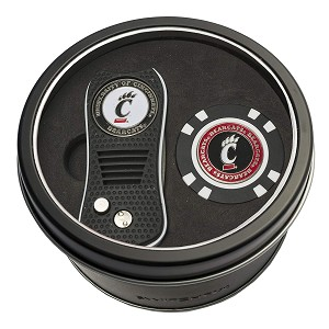 Cincinnati Bearcats Switchfix Divot Tool w/ 2 Ball Markers and Poker Chip