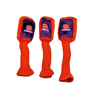 Clemson Tigers Set of 3 Graphite Head Covers