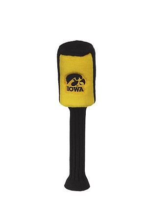 Iowa Hawkeyes Single Graphite Head Cover