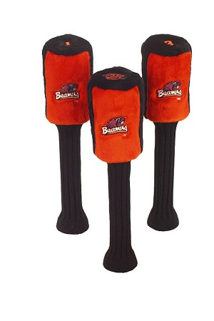 Oregon State Beavers Set of 3 Graphite Head Covers