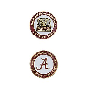 Alabama Crimson Tide Golf Ball Marker