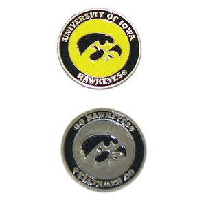 Iowa Hawkeyes Golf Ball Marker