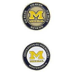 Michigan Wolverines Golf Ball Marker