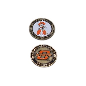 Oklahoma State Cowboys Golf Ball Marker