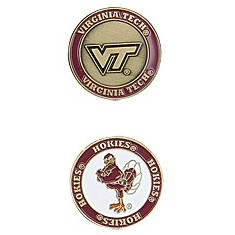 Virginia Tech Hokies Golf Ball Marker