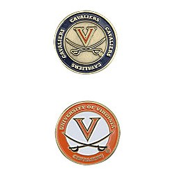 Virginia Cavaliers Golf Ball Marker